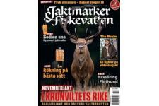 Tidningen Jaktmarker Fiskevatten 11 nummer. betala 340kr