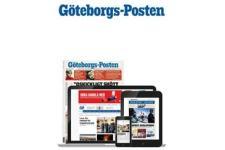 Tidningen Göteborgs Posten 177 nummer. betala 2056kr