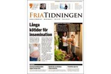 Tidningen Fria Tidningen 8 nummer. betala 49kr