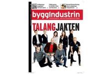 Tidningen Byggindustrin 12 nummer. betala 159kr