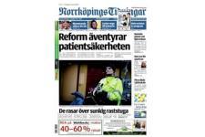 Tidningen Norrköpings Tidningar 90 nummer. betala 399kr