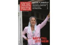 Tidningen SocialPolitik 1 nummer. betala 35kr