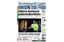 Tidningen Norrköpings Tidningar 24 nummer. betala 40kr