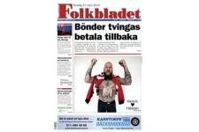 Tidningen Folkbladet 24 nummer. betala 40kr