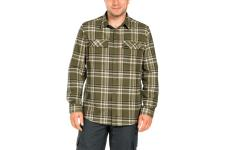 Valley Shirt Men L, Burnt Olive Checks. betala 423kr